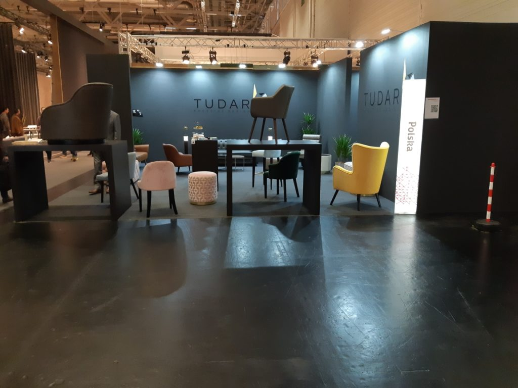 Tudar's stand on IMM Cologne 2019